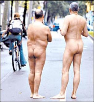 Nudismo en la Ciudad Condal