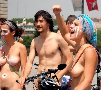 Convocan una marcha en madrid para reivindicar el derecho al nudismo