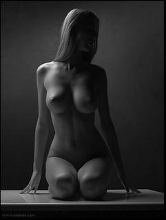 Mujer nudista, mujer más bella