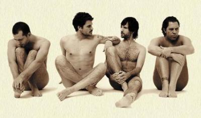 El Canto del Loco posa desnudo para la portada de su nuevo disco