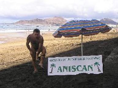 Aniscan reivindica el nudismo en la capital grancanaria